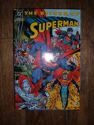 Return of Superman 1993 TPB DC Comics 480 Pages 1st Printing Steel Doomsday Lois