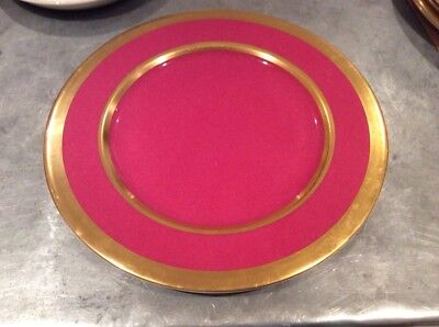 william yeoward China Avington charger plate pink 13.5""