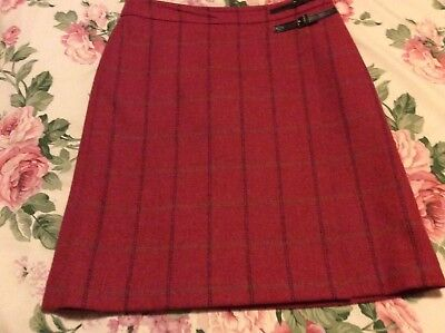 boden tweed skirt by moon sz 12 L