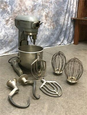 Hobart Mixer Model A200 Attachments Flat Beater Wire Whip Dough Hook Commercial