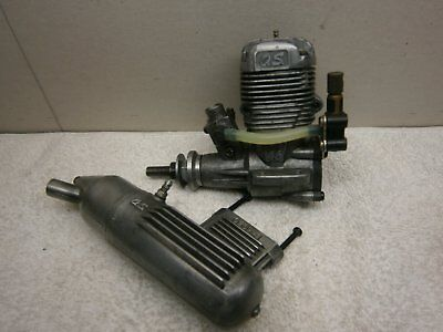 Nitro OS MAX LA 46 Radio Control Model Airplane Engine with Muffler