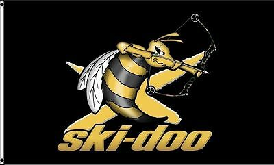 SKI-DOO bee 3d FLAG BANNER SIGN 4X2 FEET new limited exclusive