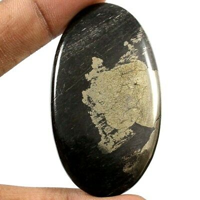 101.60 cts Excellent Quality Natural Apache Gold Pyrite Oval Cabochon Gemstone