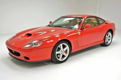 2003 Ferrari 575 M Only 7,600 Documented Miles Top Speed of 202mph F1 Trans FCA Platinum