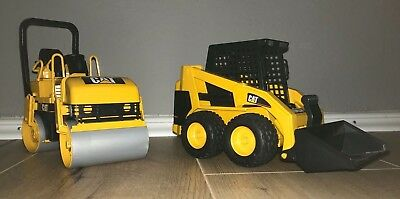 BRUDER SET Cat® Tandem-Vibrationswalze und Cat® Kompaktlader