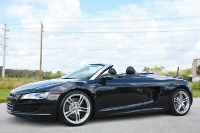 2011 Audi R8  2011 AUDI R8 V10 SPYDER - $179K NEW - 1 OWNER - LOADED WITH OPTIONS - FLORIDA