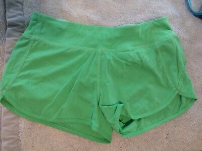 IVIVVA Girls Run Speed Shorts Size 14 In Excellent Condition