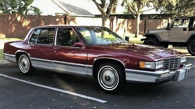 1992 Cadillac DeVille  1992 CADILLAC DEVILLE STUNNING ONE OWNER FLORDIA CAR