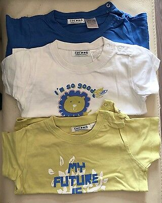 Tee shirts 12 mois (Lot de 3)