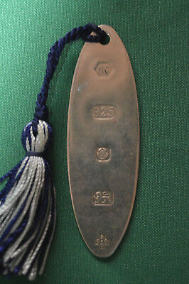 HM Silver Bookmark Carr's Of Sheffield Millennium Date Mark