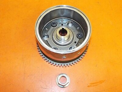 Honda FES125 2007 Alternator (Generator) Rotor, Starter Clutch and Nut
