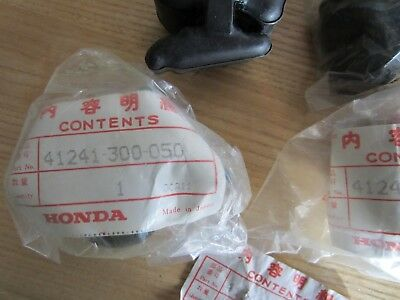 Honda NOS 41241-300-050 Rear Wheel Dampener Set CB750 CB650  4 Pcs.