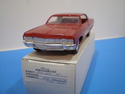 1970 Chevy Impala in red promo stock with no box