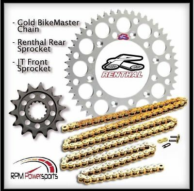 Yamaha WR450F 2003-2017 Regina RX3 PRO H//D Chain And Silver Renthal Sprocket Kit
