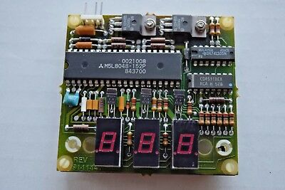 COINCO Vending Machine part - pricing readout circuit board - *NEW