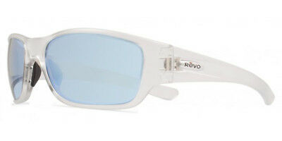 100d32bec7c NEW REVO HEADING 4058 02 GN Matte Brown   Green Water Sunglasses ...