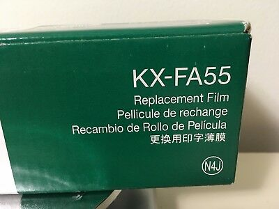 Brand NEW in Box, KX-FA55 Genuine Panasonic Ink Film, 2 rolls value pack, N4J