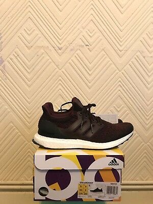 Adidas Ultraboost 3.0 Mens Running Shoes, Burgundy - 2017 Edition