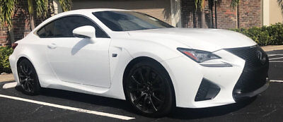2015 Lexus RC F 2dr Coupe 2015 LEXUS RC F ABSOLUTELY IMPECCABLE ONE OWNER CLEAN CARFAX