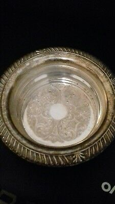 Lovely Silver Plated  vintage Bowl