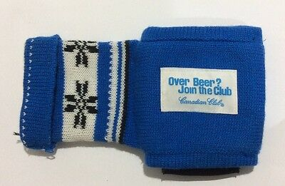 Over Beer?join The Club Canadian Club Glove Stubby Holder,canadian Club Stubby