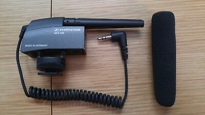 Sennheiser MKE 400 Professional Microphone Made in Germany Mint