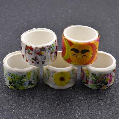 Flower Cat Smile Washi Tape Stickers DIY Scrapbooking  Adhesive Paper Decals