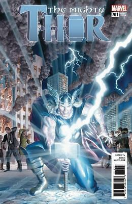 Mighty Thor #701 - 1/50 Alex Ross Variant - Nm