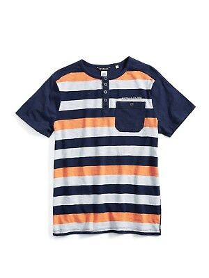 GUESS Factory Kids Quincy Striped Tee (4-16)