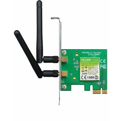 TP-Link TL-WN881ND 300Mbps Wireless N PCI-Express Network Card Antenna PCIE MIMO