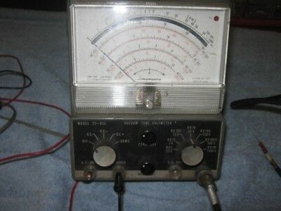 Antique Vacuum Tube Tester Micronta 22-025