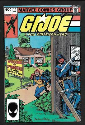 G.i. Joe #10 Nm/mt 9.6 To 9.8-Second Print-White Pages! Marvel 1982