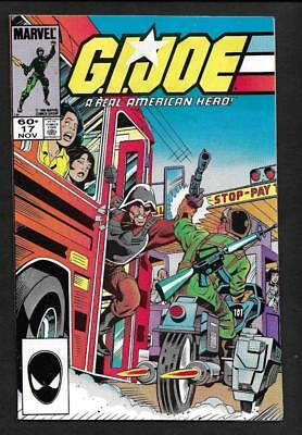 G.i. Joe #17 Nm/mt 9.8-White Pages! 2Nd Print- Marvel 1983