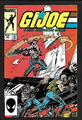 G.i. Joe #30 Nm/mt  9.8-White Pages!-  2Nd Print- Marvel 1984