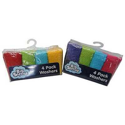 Big Softies Cotton Washers 4 Pack - Assorted*
