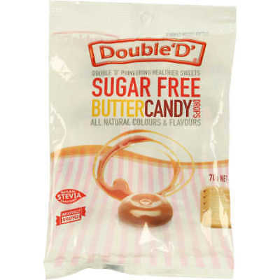 Double D Sugar Free Butter Candy Drops - 70g