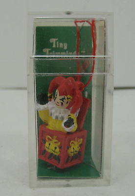"Dept 56 ""Tiny Trimmings Jack in the Box"" Collectible Hand painted Ornament NEW"