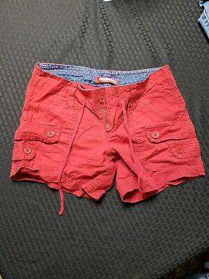 Women's Stretch Shorts UNIONBAY, Size: 1 Juniors, Color: red
