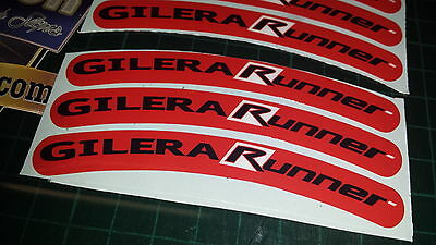 Gilera Runner Rim tape Wheel stickers EXCLUSIVE 50, 125. 172, 180 183 sp vx st K