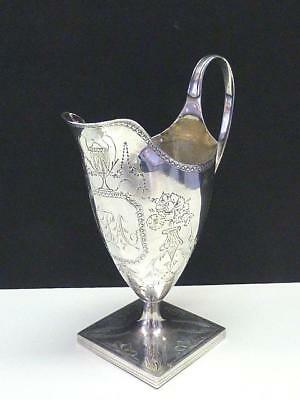 1810 Benjamin Mountigue Sterling Silver Footed Creamer Pitcher Jug GEORGIAN