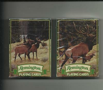Two Pack Of Remington Playing Cards / New In The Box