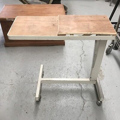 Hospital Bed Table, Bed Trolley, Bed Table, Over Bed Tray