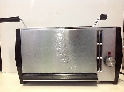 vintage HOTPOINT Vertical GRILL Healthy COOKING in PERFECT Working ORDER