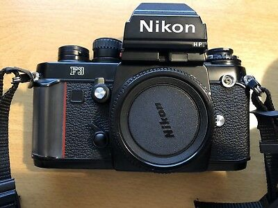 Nikon F3 Professional SLR complete with 3 lenses / 24mm, 35mm & 105mm