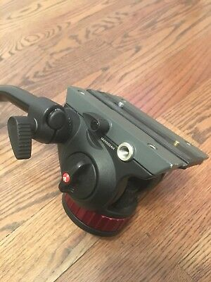 """Manfrotto MVH502AH Pro Video Head with Flat Base (3/8""""-16 Connection)"""