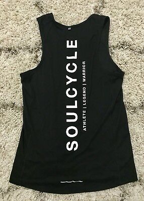Nike Dry Fit Soulcycle Black Tank Top Womens Small