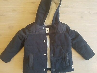 Country Road Baby Navy Coat