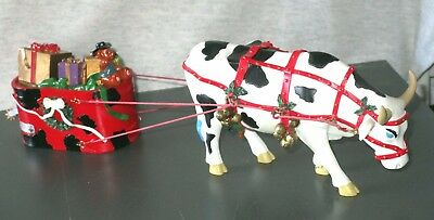 Cow Parade 16161 - Jingle Cowjingle All The Way - UK 2005 - Excellent Condition