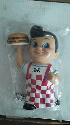 """BIG BOY COIN BANK FUNKO 1999 MINT CONDITION NEW 8"""" TALL Elias Brothers Promo"""