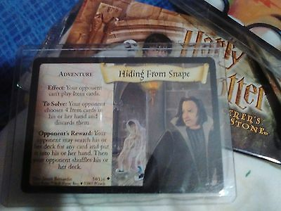 Nrfp! Harry Potter Trading Card! Rare In Plastic And Plastic Protector! #54Look!
